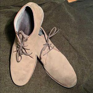 John Varvatos | Brown Chukka boots